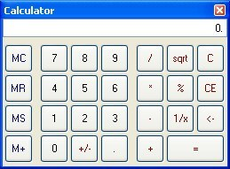 Built-in Calculator