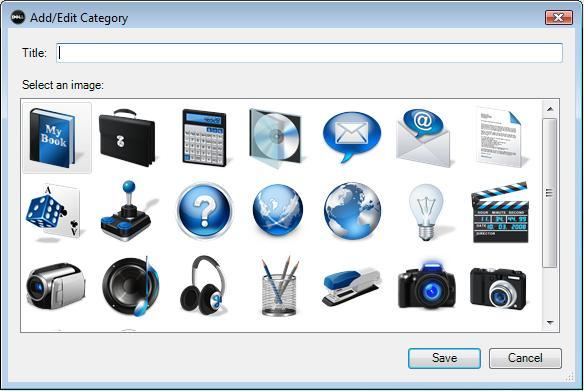 Dell Dock Categories