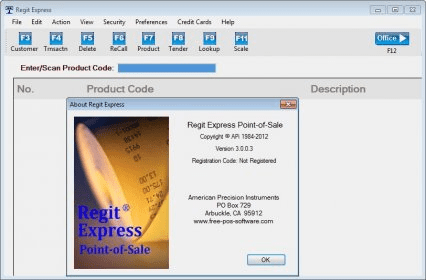 Regit Express Download - Point-of-Sale software for Windows
