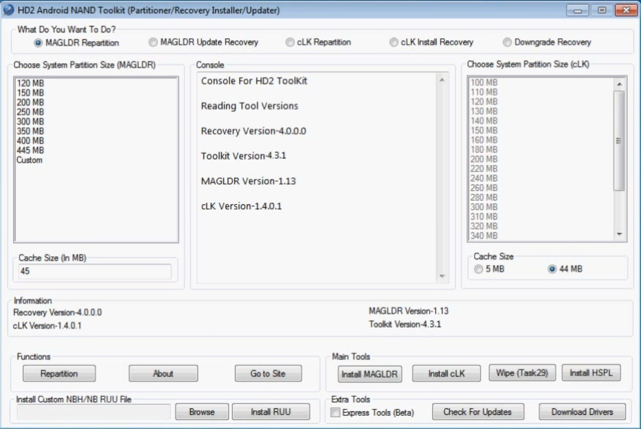 hd2 toolkit 4.1.0.0