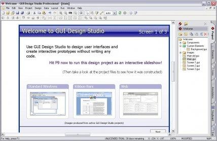 GUI Design Studio Pro - Software Informer  Design and create