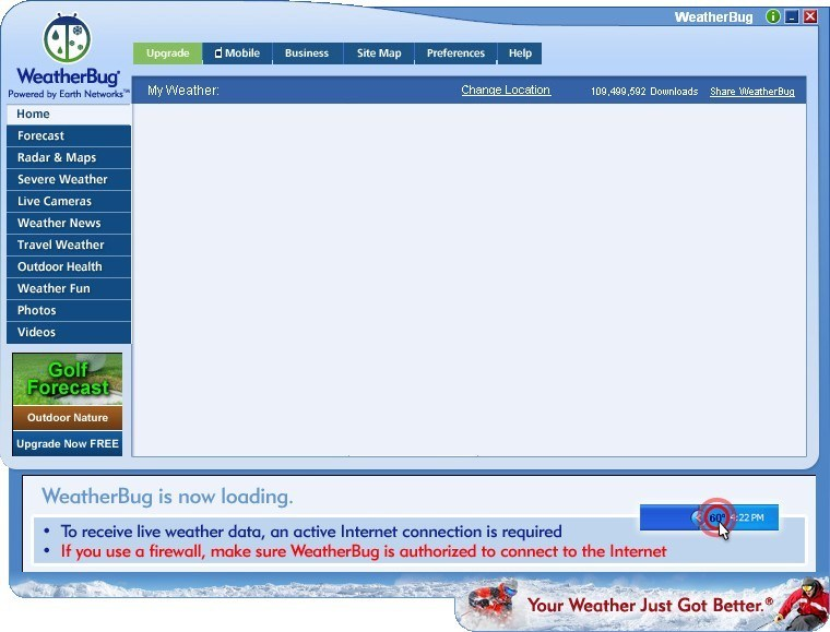 WeatherBug® Download - You can access the world's network of