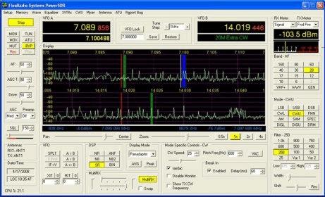 PowerSDR 2 2 Download (Free) - PowerSDR exe