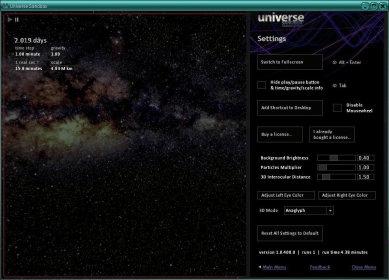 universe sandbox 2 demo