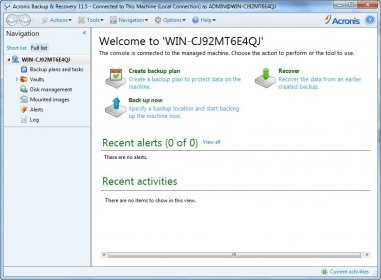 acronis backup & recovery server 11.5 keygen