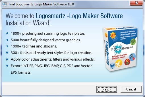 Logosmartz Logo Maker Software 10 0 Download Free Trial Logosmartz Exe