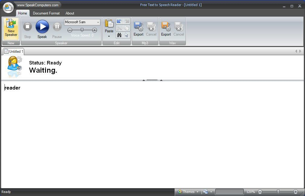 SpeakComputers Free Text to Speech 2 0 Download