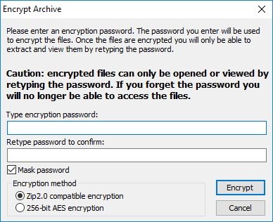 Archive Encryption