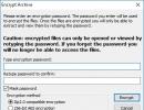 Archive Encryption