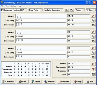 Numerology Calculator Select - Software Informer  The