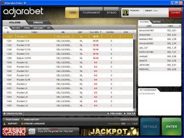 Adjarabet poker download.