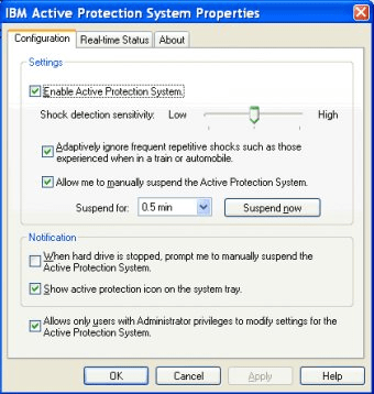 ThinkVantage Active Protection System Download - Protect your