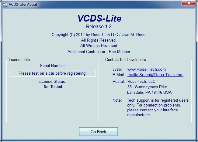 VCDS-Lite  Get the software safe and easy