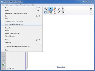 SMART Notebook Gallery 2 0 beta Download (Free)
