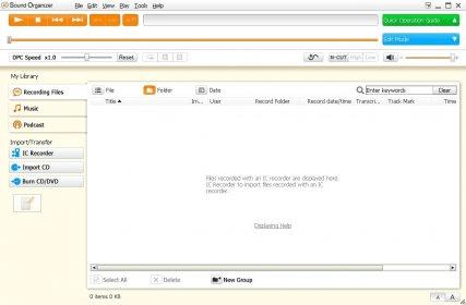 sound organizer download for mac