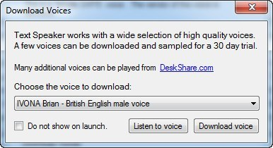 Text Speaker  Get the software safe and easy