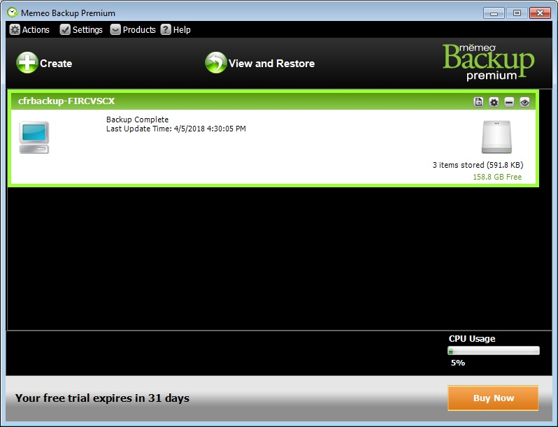 Memeo Backup Premium  Get the software safe and easy