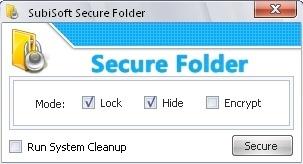 Lock/Unlock Folders