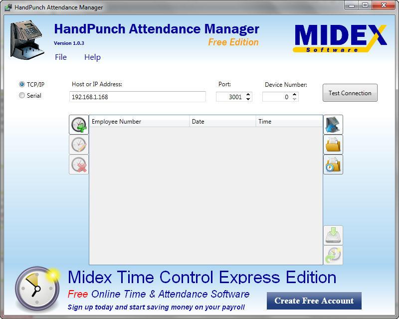 HandPunch Attendance Manager Download (HandPunchAttMgr exe)