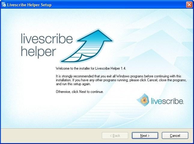 livescribe helper download