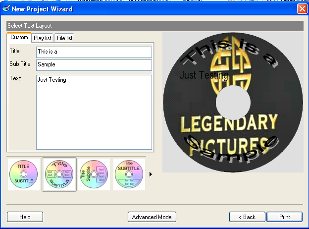Mediaface Download Program To Create Labels And Inserts For Cd Dvd Minicd