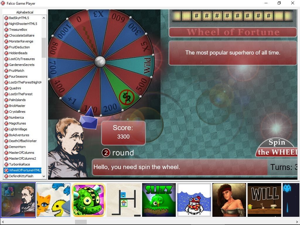 Trivia game example