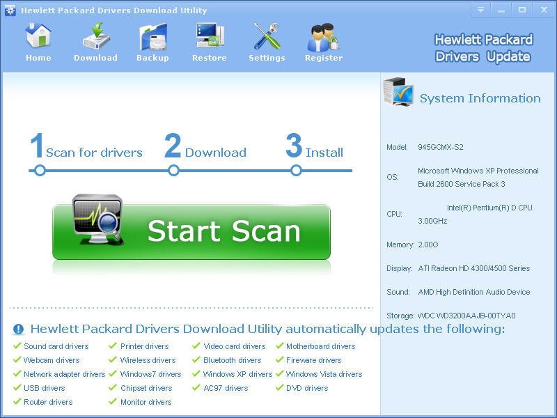 Hewlett Packard Drivers Download Utility Get The Software Safe And Easy