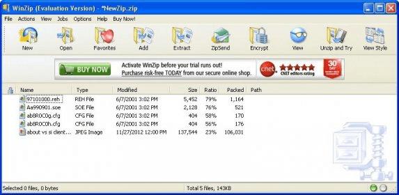WinZip 17 5 Download (Free trial) - WINZIP32 EXE