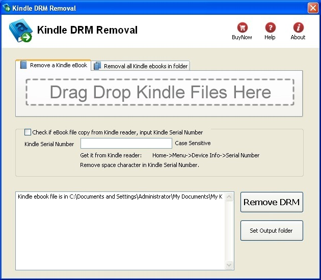 Kindle DRM Removal  Get the software safe and easy