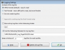 Logging Settings Window