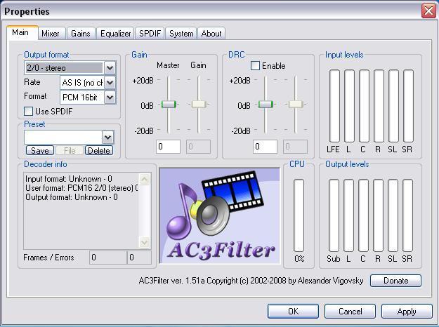 AC3 Filter
