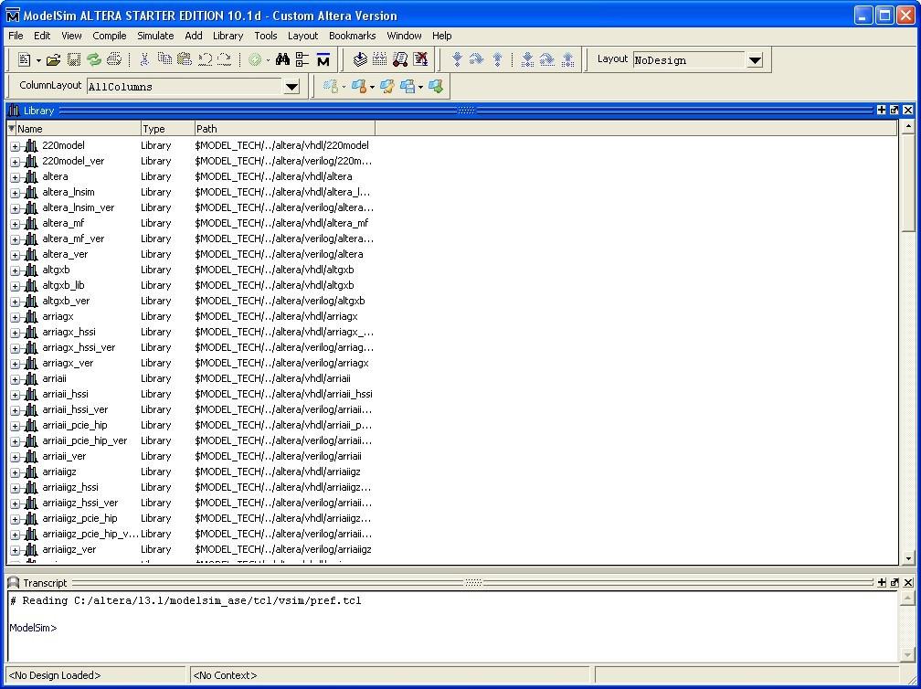 ModelSim-Altera Starter Edition 10 1 Download (Free) - modelsim exe
