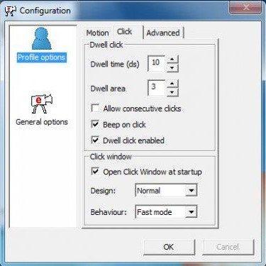 Configuration Window