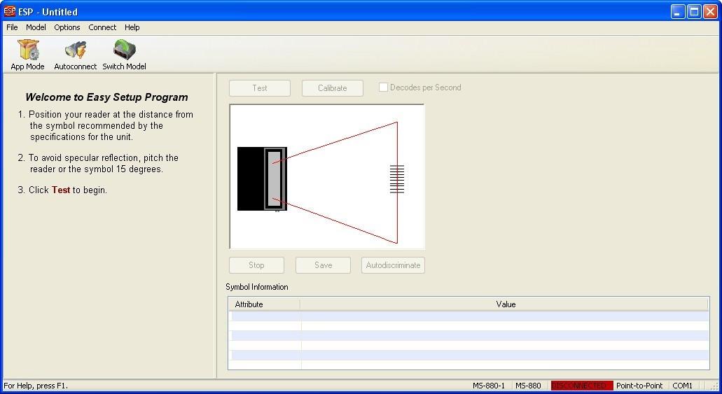 Setup Device Window