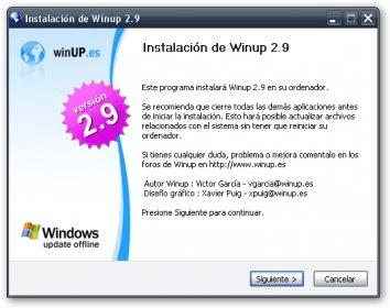 programa winup