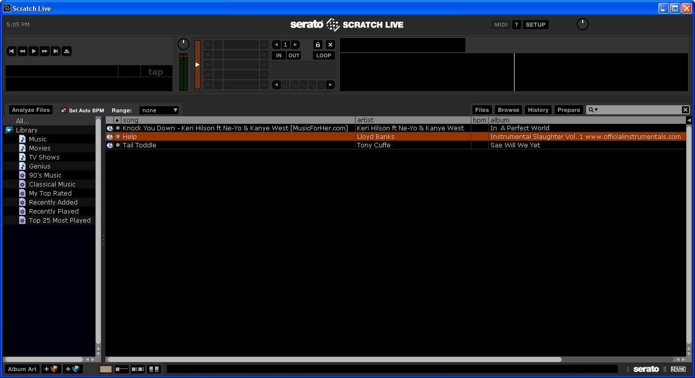 Scratch LIVE 2 5 Download (Free) - ScratchLIVE exe