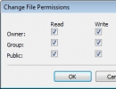 Changing File Permissions