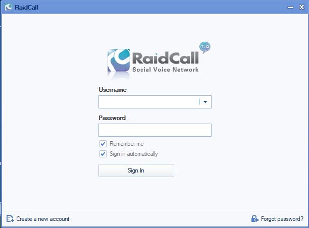 Raidcall Publisher's Description