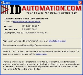 IDAutomation com Label Software Pro Download - It is a