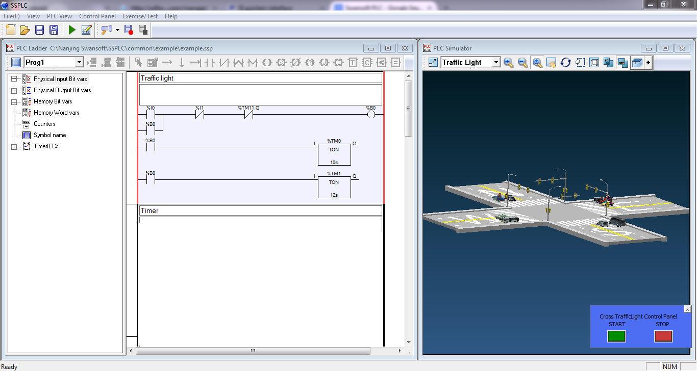 Swansoft PLC 1 2 Download (Free) - SSPLC exe