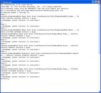 Ghostscript Download - Free source interpreter for PostScript