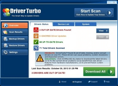 DriverTurbo 3.2 Download (Free trial) - DriverTurbo.exe