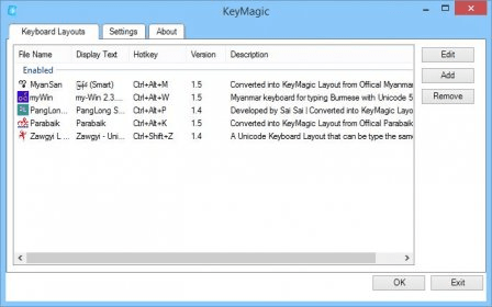 KeyMagic 1 5 Download (Free) - KeyMagic exe