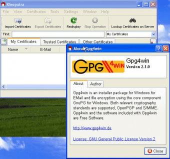gpg4win 1.1.4