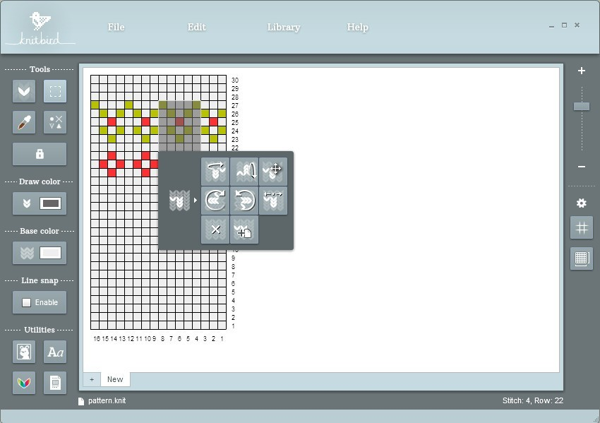 Knitting Chart Software Trinity