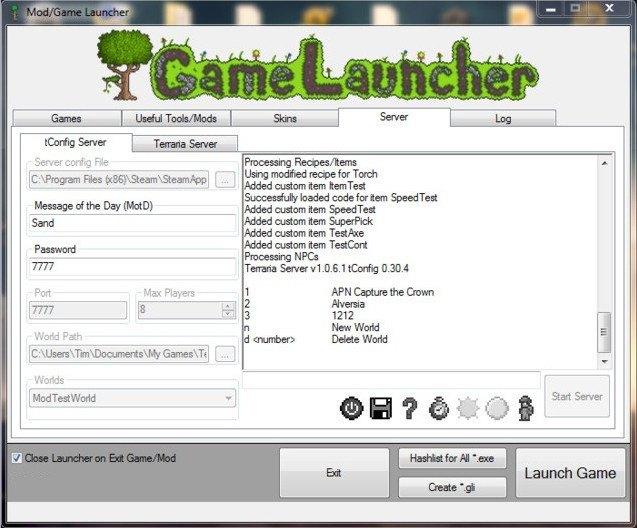 Terraria Game Launcher 3 0 Download (Free) - Terraria GameLauncher