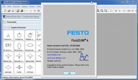 festo pneumatic simulation software