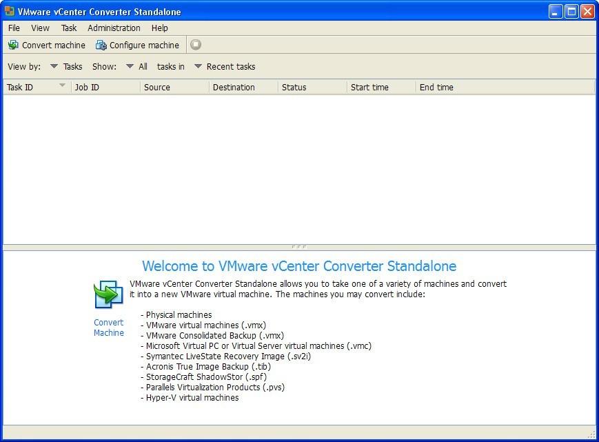 vmware vcenter converter standalone 4.3