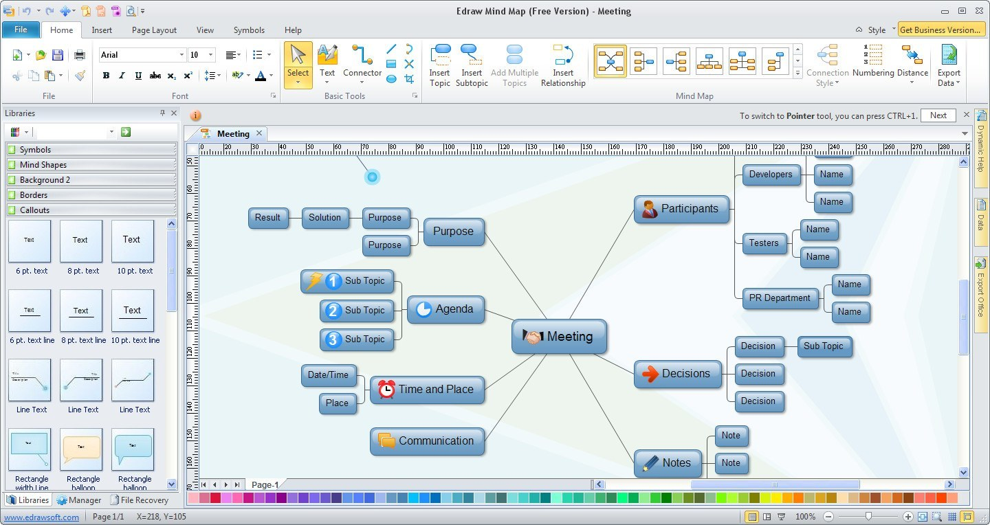 Edraw Mind Map Free Mind Mapping Software DigiTalking - Free mapping program