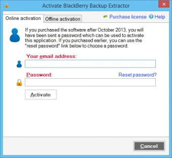BlackBerry Backup Extractor 1 0 Download (Free trial
